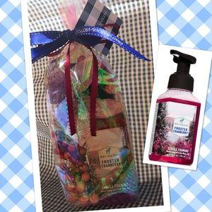 Bath & Body Works Cranberry Handsoap Gift Bag